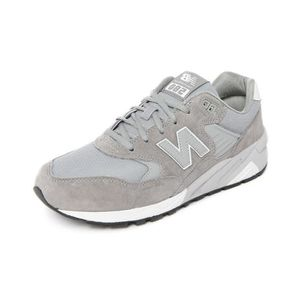 new products adc89 eff94 BASKET Sneakers 580 Cuir Gris pour homme