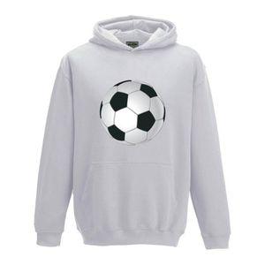 SWEATSHIRT Sweat à capuche Enfant Ballon de Football