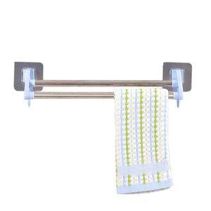 Cuisine multifonctionnel porte serviettes porte serviette de salle de bain bleu achat vente - Porte serviette cuisine ...