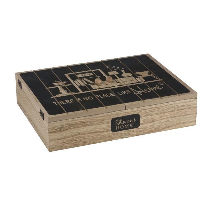 Boîte de rangement - 12 Compartiments