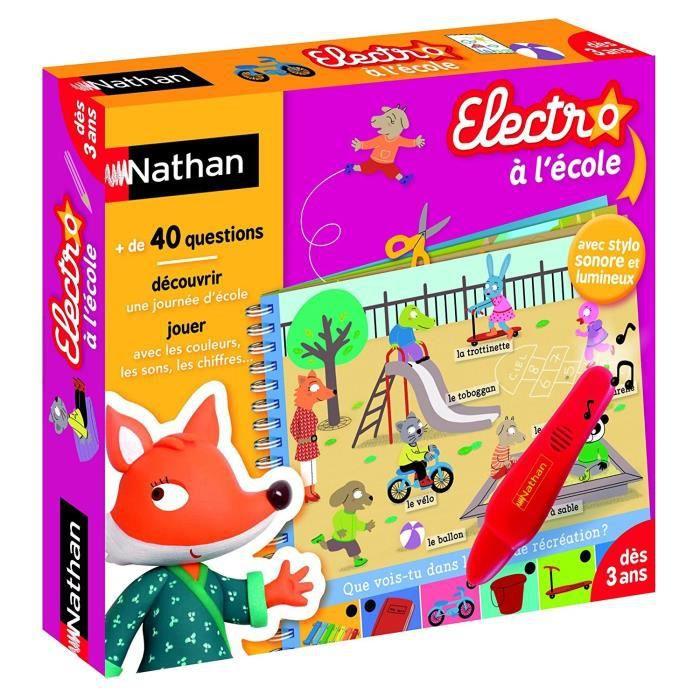 Nathan - Livre Electronique - Electro à l'école
