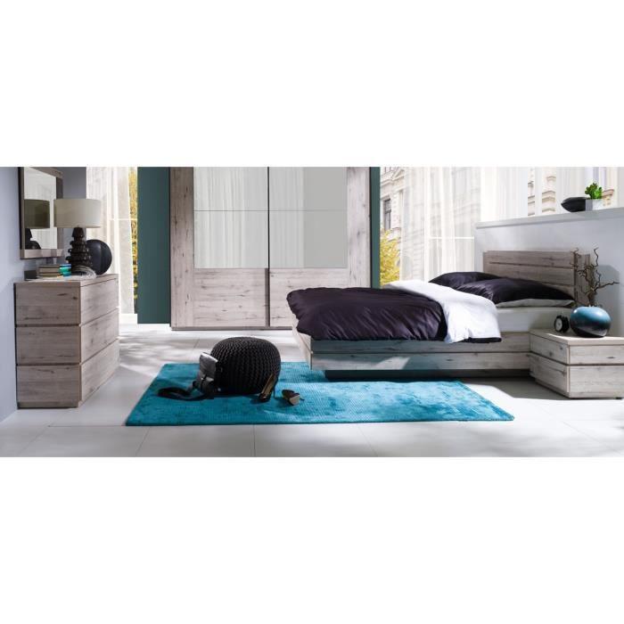 Chambre a coucher avec lit coffre achat vente chambre for Ensemble chambre a coucher pas cher