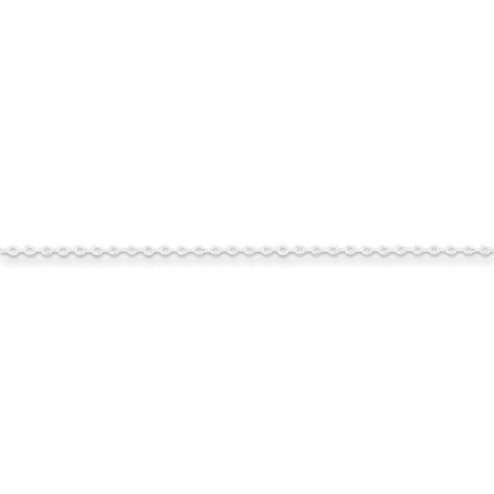 Argent fin 0,5 mm fantaisie chaîne collier - 24 cm-anneau à ressort