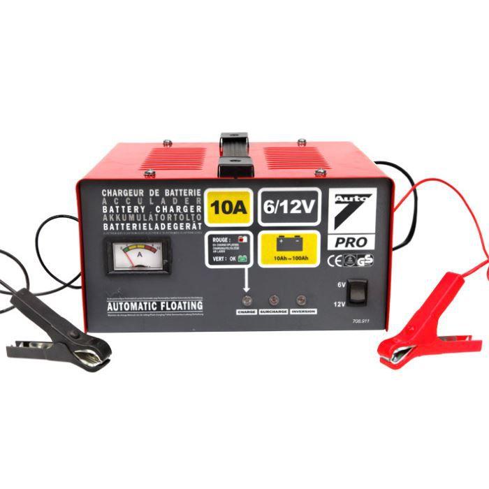 chargeur batterie 6/12v