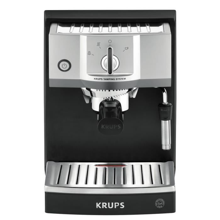 krups xp562010 machine expresso manuelle thermoblock system pompe 15 bars m tal achat. Black Bedroom Furniture Sets. Home Design Ideas