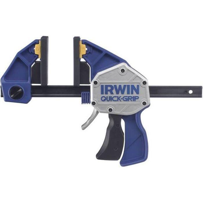Lot 4x mini et moyen serre-joint bricolage dassemblage manuel avec capacit/é d/écartement 2x 10cm et 2x 15cm Navaris Serre-joint /à une main
