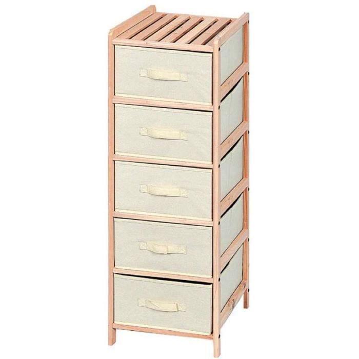 etagere tiroir achat vente etagere tiroir pas cher soldes d s le 10 janvier cdiscount. Black Bedroom Furniture Sets. Home Design Ideas