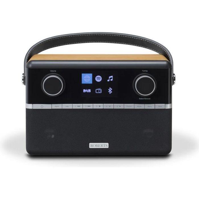 Roberts Stream 94i Smart Radio Stéréo - Dab/dab /fm Rds Et Wifi Internet Bluetooth Noir & Bois