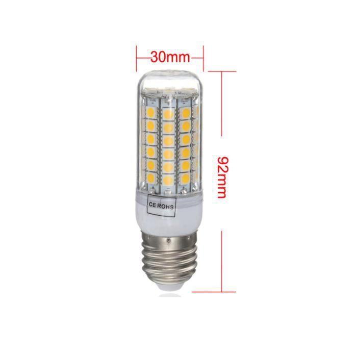 8w Wong2165 À Amyamyi Économie Ampoule 70led 220v Chaud Lumière D'énergie e27 Blanc Ye n7AES