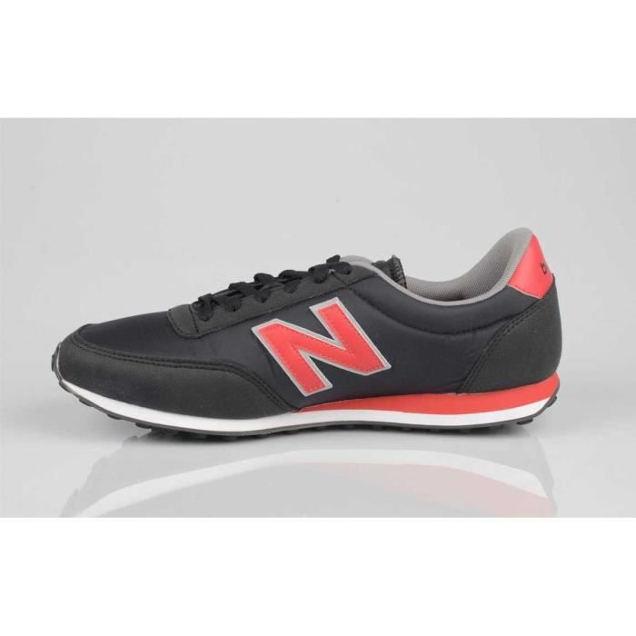 Chaussure New Balance - U410 CPB Black/Red - Baskets Homme Pointure 42,5