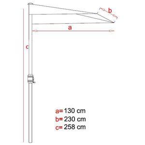 parasol balcon avec pied achat vente pas cher. Black Bedroom Furniture Sets. Home Design Ideas