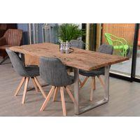 table traverse de chemin de fer 200 cm nature meuble house marron achat vente chemin de