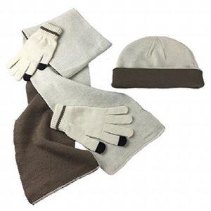 GANT TACTILE SMARTPHONE ensemble bonnet - écharpe - gant pour écran tactil a0a8b458158