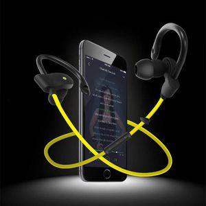 OREILLETTE BLUETOOTH Jaune  Écouteurs Oreillette Bluetooth 4.1 Sans fil