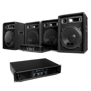 PACK SONO Electronic-star - Pack sono pro avec 2 amplificate