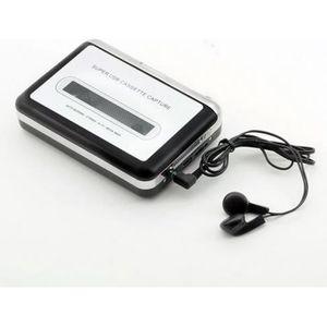 BALADEUR CD - CASSETTE QUMOX bande à PC USB Cassette-à-MP3 convertisseur