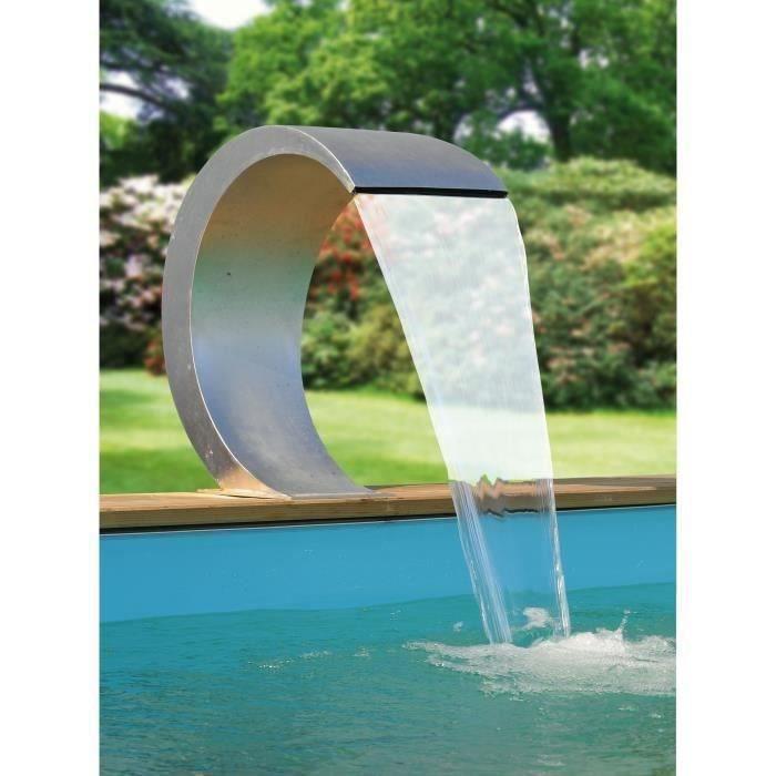 cascade inox mamba led ubbink achat vente cascade fontaine cascade inox cobra led cdiscount. Black Bedroom Furniture Sets. Home Design Ideas