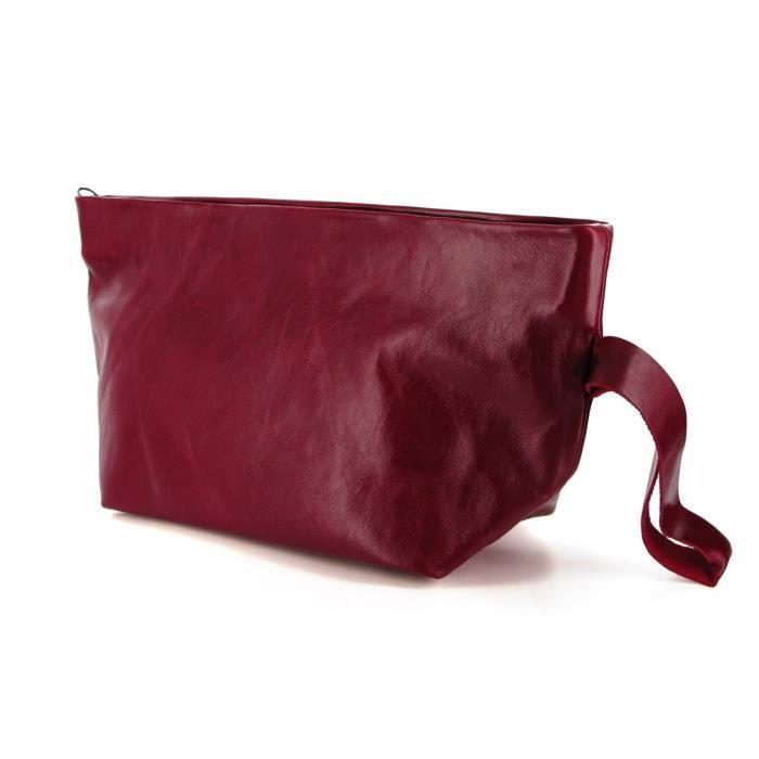 Baiser hors du temps doux sac à main dembrayage en cuir GDLSV