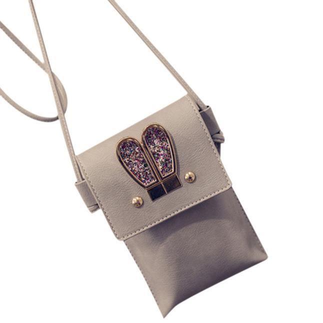 Sac Portable Gy Rabbit Zww60604443gy Femme Le Main Satchel Couleur À Nouveau Bonbon Oblique Ears qqRfgp