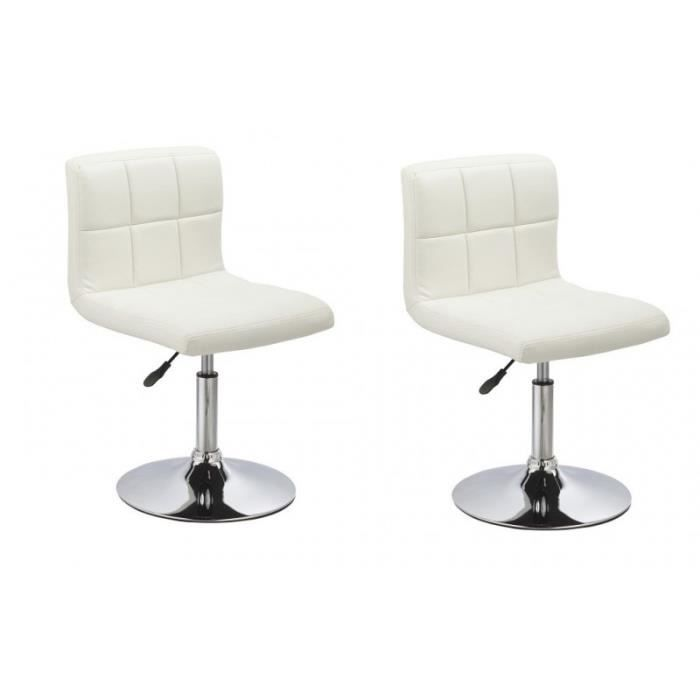 Chaise design reglable hauteur