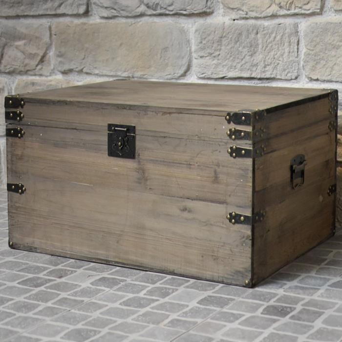 coffre et malle de rangement trendy coffre de rangement mtal patiobox s coloris blanc coffre. Black Bedroom Furniture Sets. Home Design Ideas