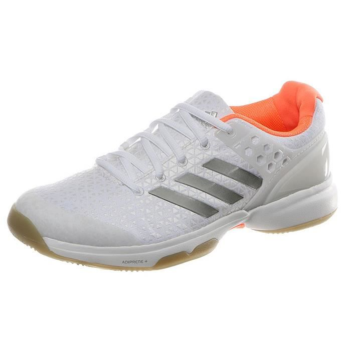Performance Chaussures 38 Tennis Adizero Adidas De Blanc Ubersonic W 2 1TclFKJ