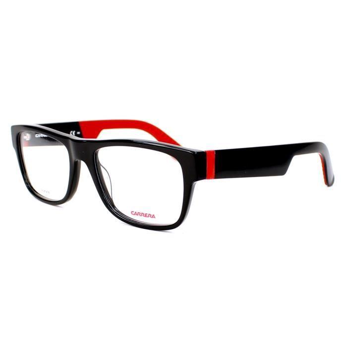 Lunettes de vue Carrera CA 4402 -29A Noir brillant - Rouge - Achat ... c00bf3b53304