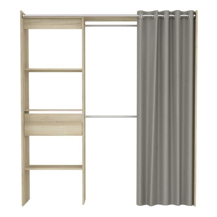 dressing profondeur 40. Black Bedroom Furniture Sets. Home Design Ideas