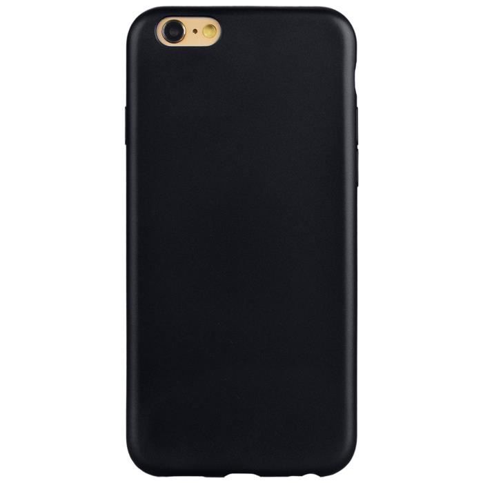 coque iphone 6 silicone noir