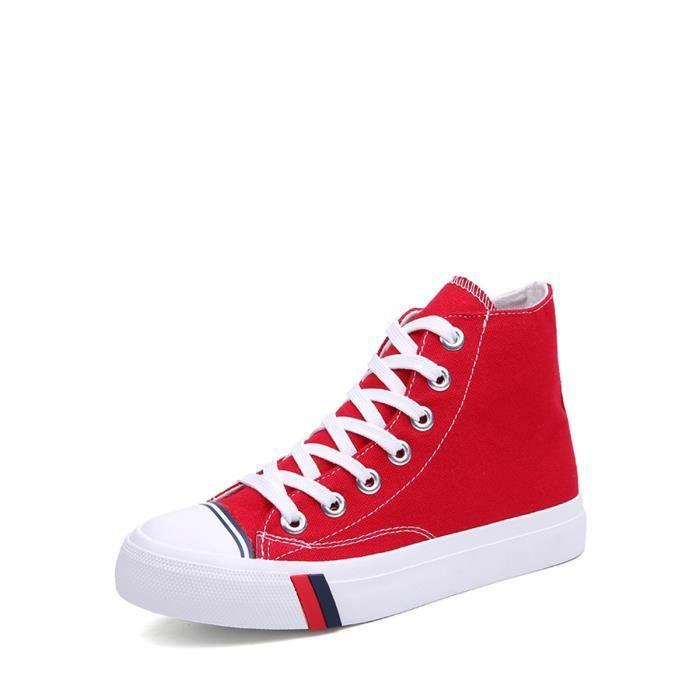 chaussures multisport Baskets Top de toile confortable de lacer des femmes 3604842