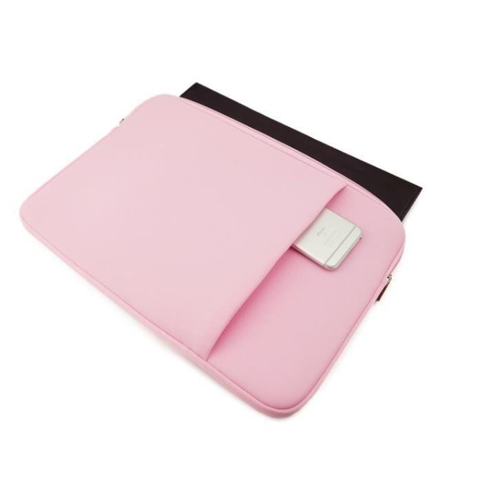 """f2aeeb0a44 ... Ordinateur Portable Tablette 13 Pouces - Couleur:ROSE. HOUSSE PC  PORTABLE Pochette 13"""" pour Mac PC Housse Protection Sac"""