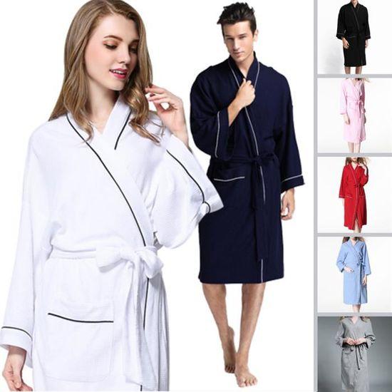 best sell great deals lowest discount Peignoirs de Bain Homme Femme Robes de SPA-Chambre en Coton ...