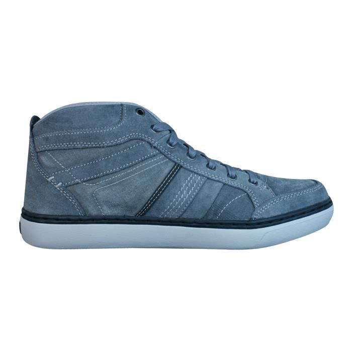 Skechers Palen Nando Relaxed Fit Hommes Hi Top Baskets - Chaussures Gris 42ZgPX