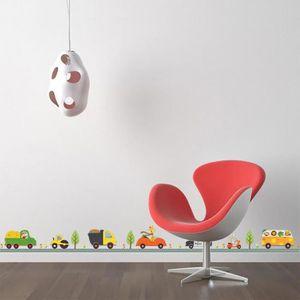 stickers muraux enfant animaux achat vente pas cher. Black Bedroom Furniture Sets. Home Design Ideas