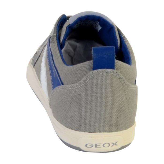 Basket Geox Enfant J Kilwi 31 Gris