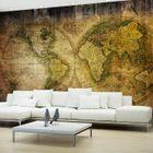 """Mappemonde Deco Murale papier peint mappemonde """"old world"""" - achat / vente objet décoration"""