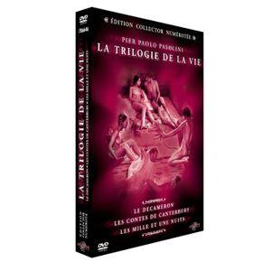 DVD FILM DVD Coffret  Pasolini, la trilogie de la vie : ...