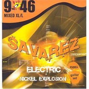 SAVAREZ SA-X50XLL Jeu électrique nickel explosion Extra Light +