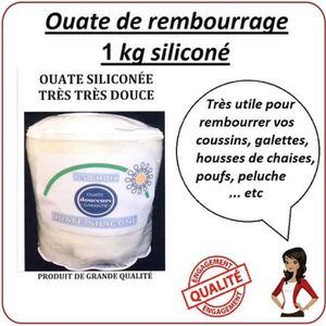 OUATE  Ouate Rembourrage1KG siliconée ideal coussins ore