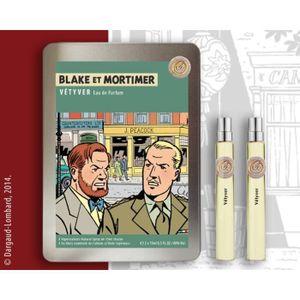 COFFRET CADEAU PARFUM Coffret d'eaux de parfum Blake et Mortimer Vétyver