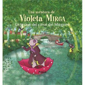 LIVRE LANGUES RARES Livre - una aventura de Violeta Mirga t.6 ; le tes
