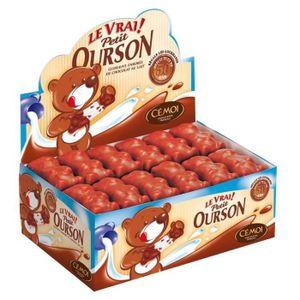 CONFISERIE DE CHOCOLAT Véritable Petit Ourson Chocolat Lait (par 48)   [B