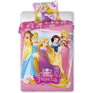 Housse de couette princesse achat vente housse de couette princesse pas cher cdiscount - Housse de couette princesse 140x200 ...