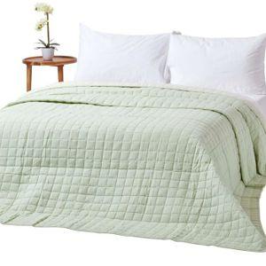 couvre lit vert achat vente couvre lit vert pas cher. Black Bedroom Furniture Sets. Home Design Ideas