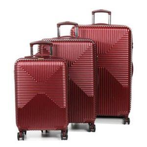 SET DE VALISES Ensemble 3 valises, carbon chrome I, 100% polycarb