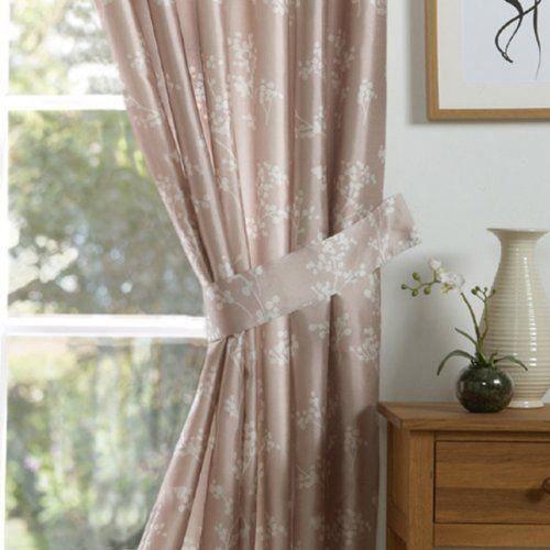liens attaches de rideaux anais paire creme achat. Black Bedroom Furniture Sets. Home Design Ideas