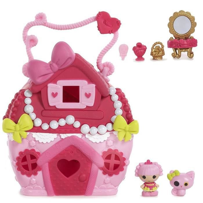 FIGURINE - PERSONNAGE Lalaloopsy TINIES™ - Jewel Playhouse avec des Acce