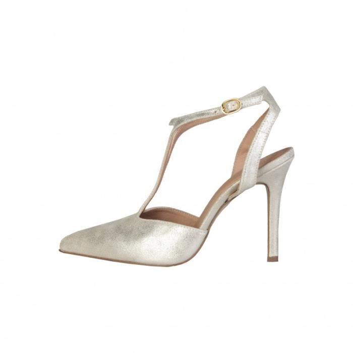 Sandale - Nu-Pieds - V 1969 - Sandales pour Femme jaune V 1969 kkqUwcP5