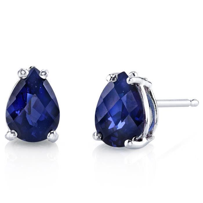 Complet Boucle d oreille en saphir – Les meilleurs bijoux ZB21