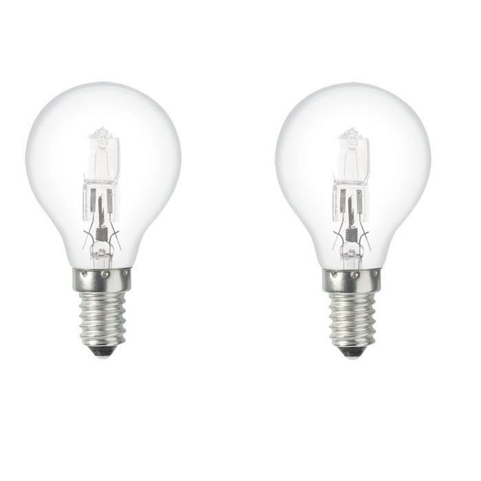 55 W À Équivalent De E14 42 Halogène Ampoules Éco Easylight Lot 2 c1JlFK
